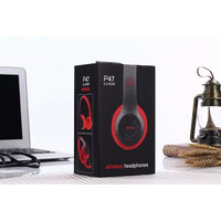 P47 Headphone Wireless Portable Bluetooth Headset Bass Earphone