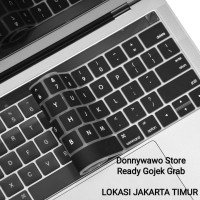 Pelindung Keyboard Protector Macbook Retina Pro TOUCHBAR 13 15 HITAM