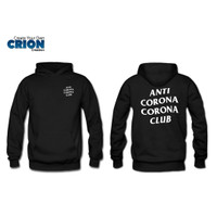 Jaket Sweater Hoodie Corona - Anti Corona Corona Club - By Crion