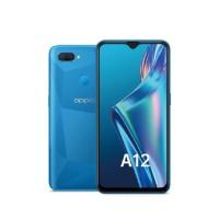 OPPO A12 Smartphone - 4/64GB - Garansi Resmi - Blue
