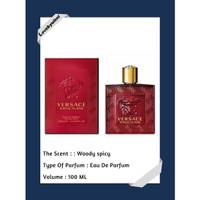 EROS FLAME BY VERSACE 100ml - Eau de Parfum