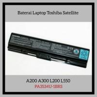 Baterai Laptop Toshiba Satellite A200 A300 L200 PA3534U-1BRS
