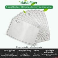 ready stok isi 5 pcs filter masker PM 2.5 original 5 layer N95 bowin