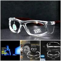 kacamata safety pelindung mata lensa anti radiasi blue ray