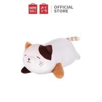 MINISO Boneka Mainan Mewah Karakter Kucing Berbaring Cat Lucu Plush To