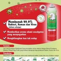 Disinfectant Spray Eagle Eucalyptus Cap Lang 280ml Original
