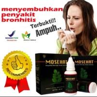Herbal Mosehat Obat Bronkitis-Paru Paru Basah-Batuk Kering-BPOM Ampuh
