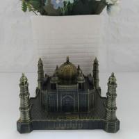 Miniatur Taj Mahal Pajangan Hadiah Souvenir Unik Display Ruangan
