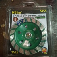 "Diamond Cup Grinding Wheel Turbo 4"" Mollar"