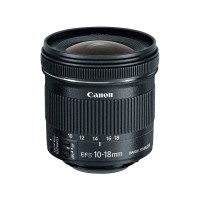 Canon lens EF-S 10-18mm f4.5-5.6 IS STM