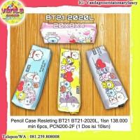 Pencil case resleting BT21 BTS / Tepak pensil resleting BTS
