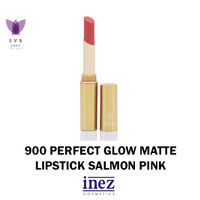 INEZ - 900 Perfect Glow Matte Lipstick Salmon Pink LVSSHOP