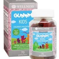 Wellness Gummy kids 70 multivitamin anak mirip blackmores kids