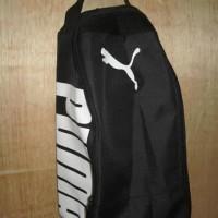Jual Tas Sepatu Futsal Bola Gym Fitness Puma Hitam Putih Ferryp388