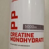 GNC CREATINE MONOHYDRATE POWDER 5000MG #BPOM