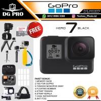 GOPRO HERO 7 BLACK EDITION BONUS WATERPROOF & 64GB - GO PRO HERO7 TAM