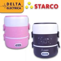 Starco Elektrik Lunch Box Mini/Mini Rice Cooker 2 Tingkat Multifungsi