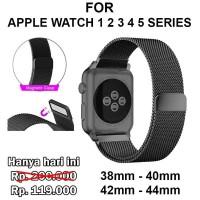 Strap Band Magnet Apple Watch 1 2 3 4 5 tali jam 38mm 40mm 4 [TCM01]