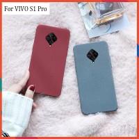 VIVO S1 Pro Soft Case Matt Silicone Ultra Slim Case Covers