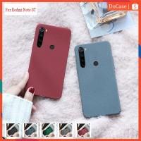 Redmi Note 8T Soft Case Matt Silicone Slim Case Full Covers