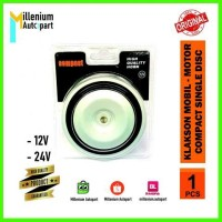 Klakson Mobil Motor Compact Single Disc 12V 24V Universal Super