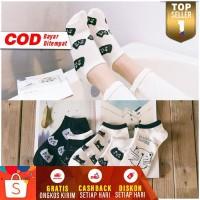 Kaos Kaki Pendek Wanita Dewasa Japanese Shibuya Cat Women Ankle Socks