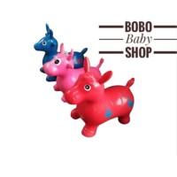 NEW Jumping Animal Music - Mainan tunggang/kuda kudaan karet with
