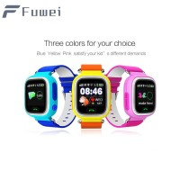 Fuw Q90 child GPS smart watch touch screen WIFISOS call tracker