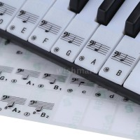 49 Kunci Piano Elektronik Transparan 88 Kunci