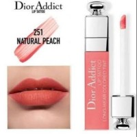 DIOR ADDICT LIP TATTOO LONG-WEAR COLORED TINT IN NATURAL PEACH