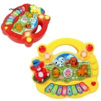 CS Mainan Piano Elektronik Bentuk Hewan Peternakan Lucu untuk