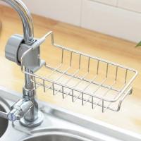 Rak Gantung Bahan Stainless Steel untuk Wastafel Dapur / Kamar Mandi