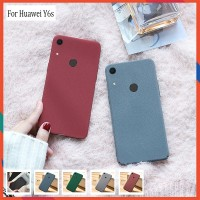 Huawei Y6s Soft Case Full Cover Matt Silicone Ultra Slim Case Covers