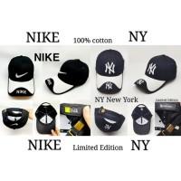 NEW topi Baseball import NY kombinasi - NIKE NEW