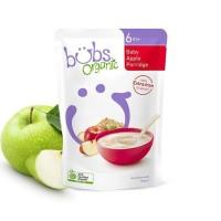 Bubur bayi Bubs Organic Baby Apple Porridge 125g original product