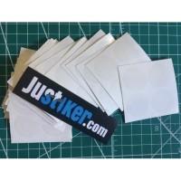 Sticker Transparant Pelindung Anti Gores Kabel Kawat Frame Sepeda