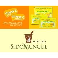 Vitamin C 1000mg 1 box Sidomuncul Sido Muncul Vitamin E Corona Covid