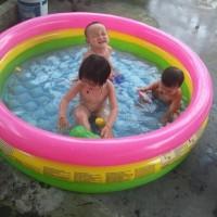 Intex Sunset Swim Pool 147 x 33cm. Kolam Renang Karet Anak.