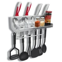 Rak DInding Dapur Aluminium - Kitchen Stuff Rack