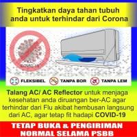 AC Reflector 75 rb / Talang AC75 rb / Acrylic AC / Penahan ac