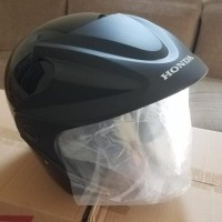 Helm Honda HMJ-1 HMJ1 HMJ 1 Baru, Ori, Helm Half Face SNI