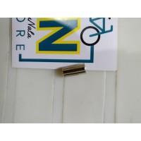Jagwire End Cap Housing Brake Brass 5mm BOT115-2D chrome nn store