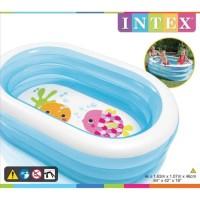 Kolam Renang Anak INTEX Oval Ahoy Pirate Friends Swiming Pool 57482
