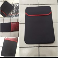 "Softcase Laptop / Sarung Laptop 10 - 14"" inch / Tas Laptop - Hitam"