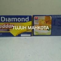 Keju Chesee Processed Cheddar 180gr Diamond