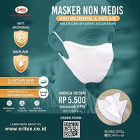 Masker Sritex Anti Air Anti Bakteri 100% ORIGINAL