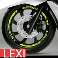 STICKER VELG YAMAHA LEXI CUTTING STICKER NEW 01