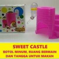 Mainan Hamster - Sugar Glider Sweet Castle