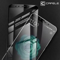 Case Casing Xiaomi Mi6 - Cafele Tempered Glass 4D full cover