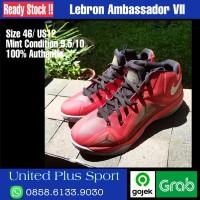 LEBRON AMBASSADOR VII Size 46 Authentic Original